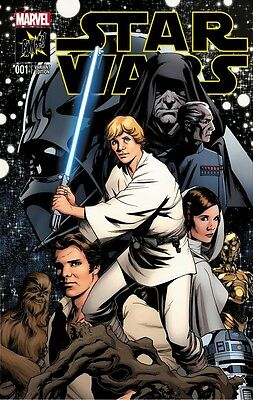 Star Wars Issue 1 - Rare Bampf!! Comics Variant Cover - Marvel Comics