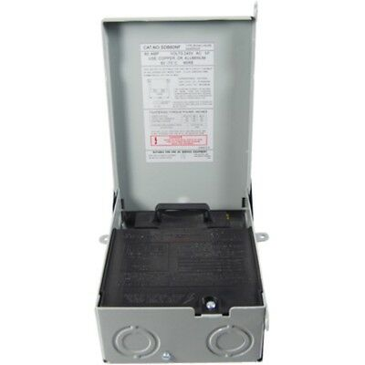 Mars Replacement Non Fused 60 Amp Disconnect Box 83315 By Packard