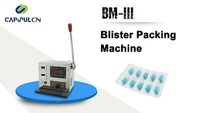 110/220V Blister Packaging machine BM-III Blister Sealer Lab machine