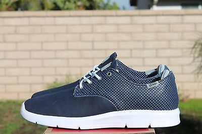0aa3a1bf0b Vans Otw Prelow Sz 9 Navy White Dots Ultracush Sole Off The Wall Vn 0Sepeqt