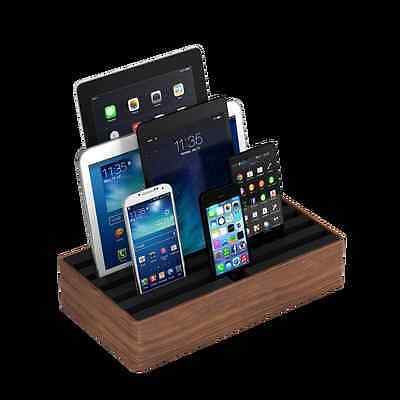 NEW Combination large walnut docking & charging station by ALLDOCK