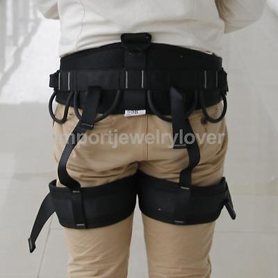 Climbing Harness Rock Ice Alpine Indoor Wall Abseil Protection Safety Belt