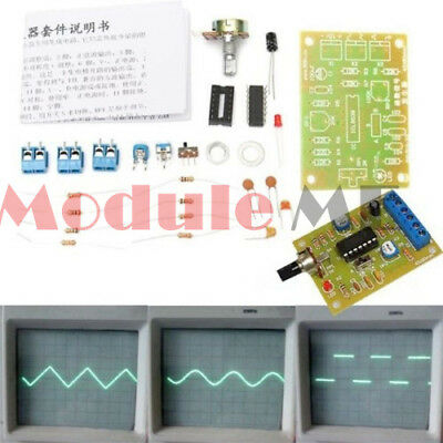 ICL8038 Monolithic Function Signal Generator Module DIY Sine Square Triangle MO