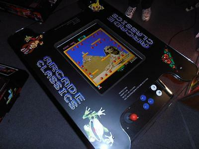 New 412 Games Arcade Table Game. Inc 2 Free Arcade Stools