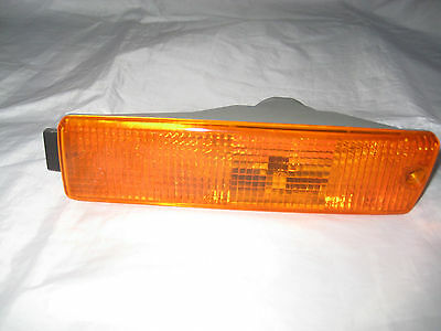 VW GOLF JETTA MK2 AMBER FRONT INDICATOR LAMP LIGHT LH 1989 to 1992 BIG BUMPER