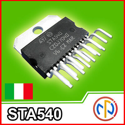 STA540 Amplificatore Audio 4 canali 76W Integrato