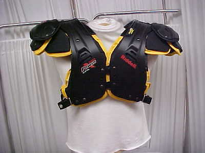 NCAA Iowa Hawkeyes Team Issued Riddell Power CPK Football Shoulder Pads Size-2XL