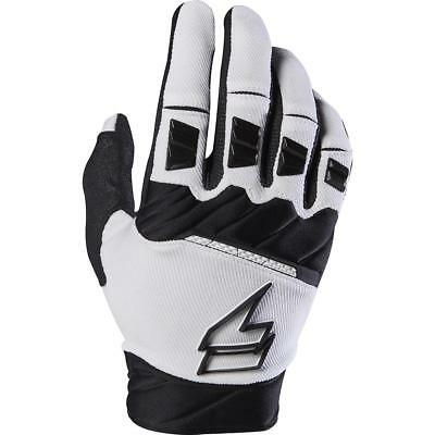 NEW Shift 2017 WHIT3 Pro Black/White Gloves from Moto Heaven