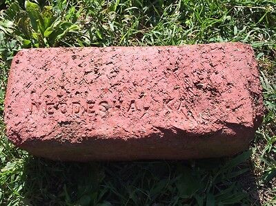 antique street paver Neodesha Ks Kansas Extra Thick VVV Brick & Tile Co Sidewalk