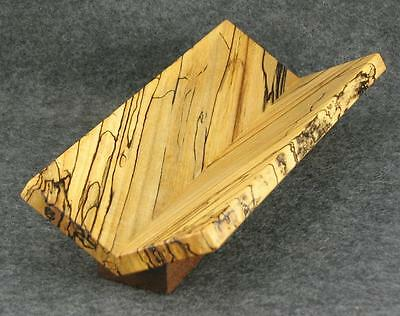 Handmade/handcrafted Spalted Maple Pen/pencil Tray