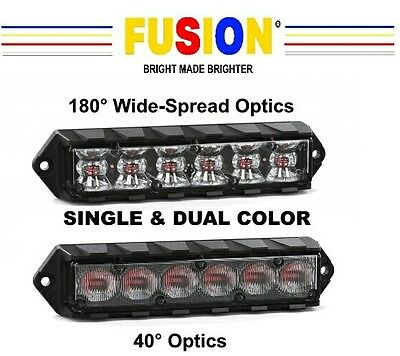 NEW Feniex Fusion Surface Mount Light Dual Color(Dual Mode)5 Year Warranty!