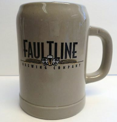 Faultline Brewing Company Beer Stein - Gerz