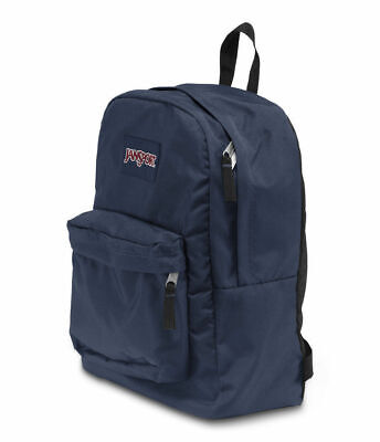 Jansport Superbreak Navy Backpack Bag New Free Postage Australian Seller