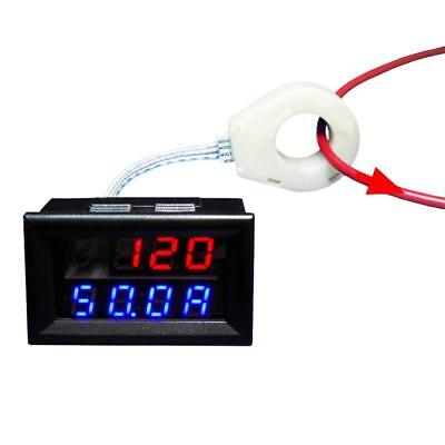 Battery Monitor 5-120V 200A Voltage Current Remaining Capacity Meter Hall Sensor