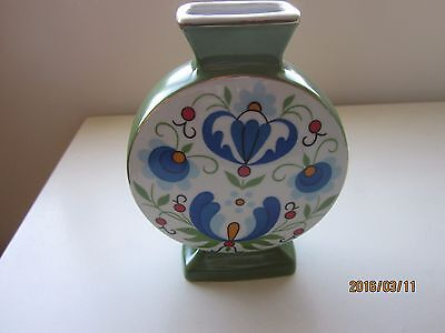 "Lubiana Pottery Vase made in Poland 6.25""H"