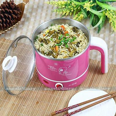 Adjustable Electric Hot Pot Cooking Soup Noodle Warmer Heat Water Multifunction