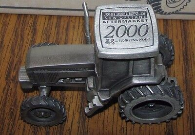 John Deere 7800 Pewter Tractor 1994 New Orleans Expo 2000 Spec Cast Toy