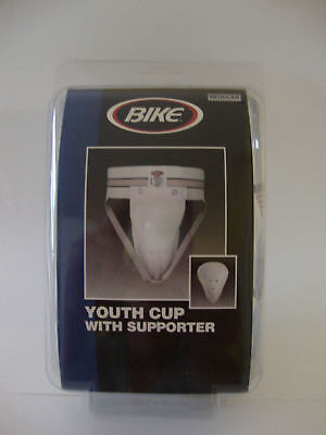 """Bike - Youth Cup With Supporter  Jock Strap #7175 Regular 26-28"""""""