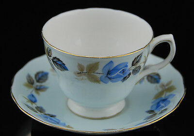 Colclough Pattern Ridgway Potteries England Bone China Teacup and Saucer