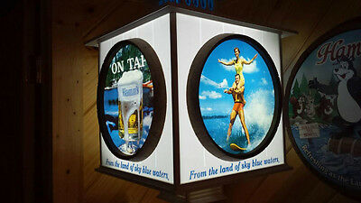 NEW Replacement Photo's for Hamm's Beer Signs for both Hanging or Wall Mounted