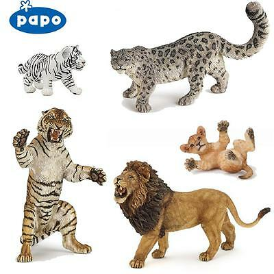 PAPO Wild Animal Kingdom BIG CATS - Choose for 25 different Cats all with Tags