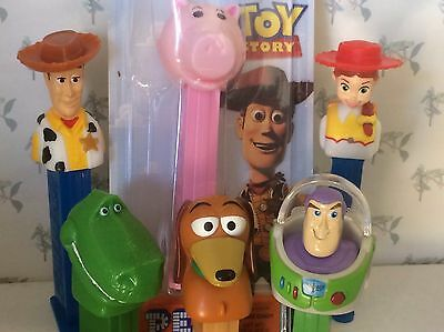 PEZ - Toy Story - Choose Character from Pull Down Menu