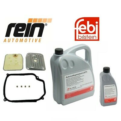 6-Liters VW Auto Transmission Fluid+Filter Kit Golf Jetta 01M398009 G052162A2