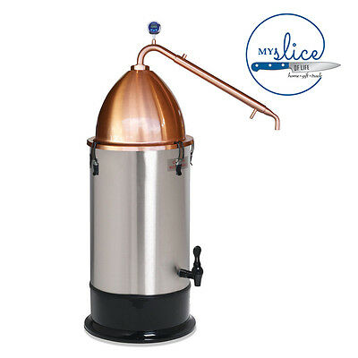 Still Spirits Alembic Pot Still + 25LT Turbo Boiler - Spirits, Essential Oil.