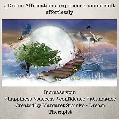 CD 4 Dream Affiramtions - happines, success, abundance, confidence