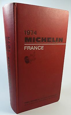 1974 guide Michelin France