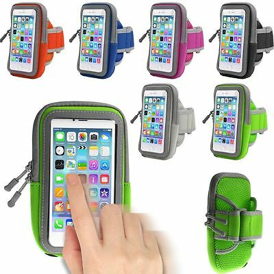 For Various Phones Running Jogging Sports Gym Arm Band Mobile Holder Case Cover