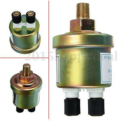 1/8 NPT Metal Oil Pressure Sensor Gauge Sender Measurement Range 0-1.0Mpa