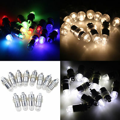 LED Submersible Mini Light Balloon Paper Lantern Wedding Party Floral Decoration