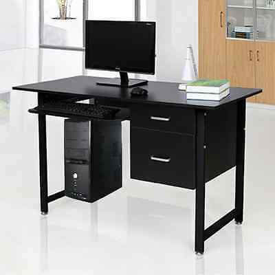 2 Drawer Computer Desk Executive Office Workstation Study Desk Home Office Table