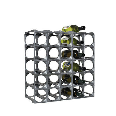 Kitchen Bar Wine Wall Storage Rack Holder Stand Organiser Display Kit 30 Bottles