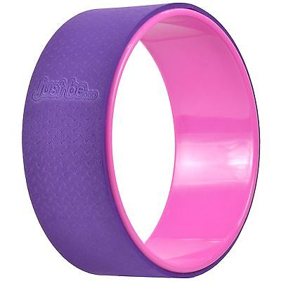 just be...® - Yoga Wheel - Pink/Purple - Pilates Exercise Posture