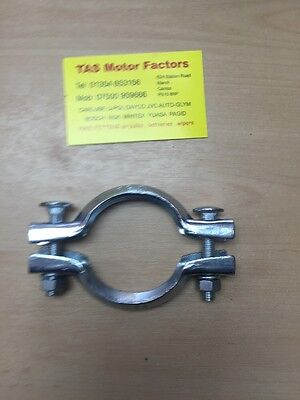 Peugeot Citroen Clam Shell Type Clamp Bracket Clip 69mm Exhaust Flange