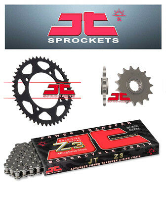 Suzuki GSX1250 FA ABS 2010 JT Chain & Sprocket Kit Z3 Heavy Duty X-Ring 530