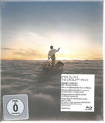 """PINK FLOYD """"The Endless River"""" CD + BLURAY Box sealed"""