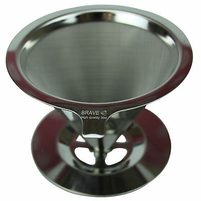 304 stainless steel 3 Micron permanent  coffe filter red wine tea honey filter