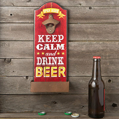 Keep calm and drink beer - bottle opener 12181