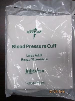 Medline Disposable Large Adult BP Cuffs Lot of 10 Ref MDS9724HP