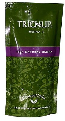 Trichup Henna 100 gram premium natural Henna powder for hair and hands tattoo