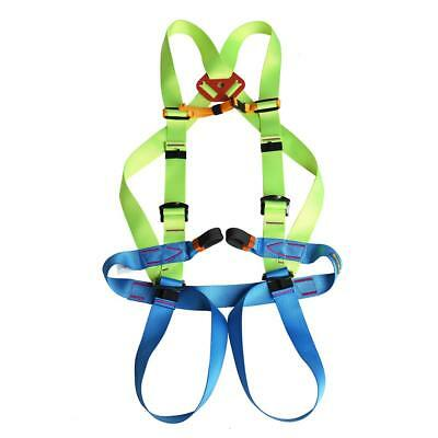 Outdoor Rock Climbing Rappel Rescue Full Body Harness Safety Equipment Gear