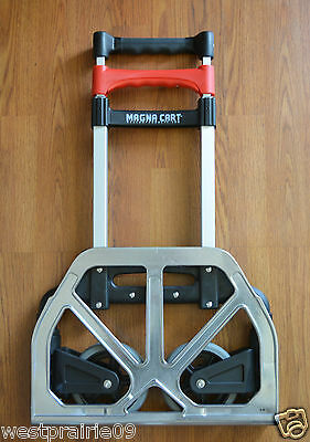 Magna Cart Personal Hand Truck 68kg/150 lb Aluminum Folding Trolley Dolly