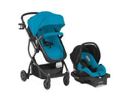 BABY 3in1 Stroller Car Seat Travel System Infant Carriage Buggy Bassinet Teal