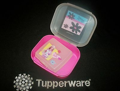 Tupperware Barbie ~Storzalot Jr ~Sandwich Keeper ~doll clothes or lunch snack