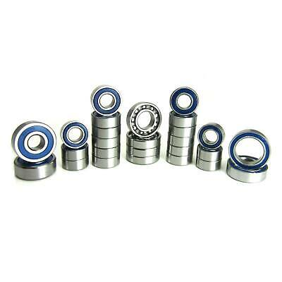 TRB RC Precision Bearing Kit (26) Blue Rubber Sealed Axial SCX10 II