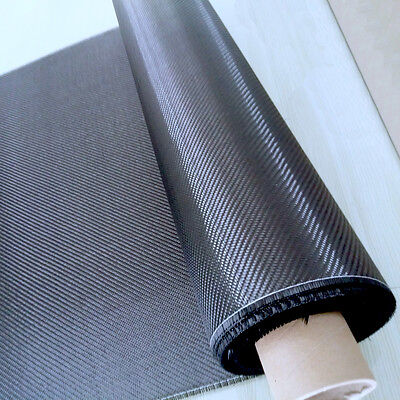 "Setting Fabric 32"" x 6yd 3K 2X2 Twill 200gsm Real Carbon Fiber Cloth 82cm width"