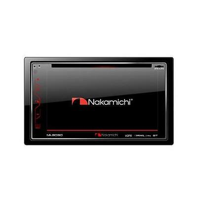 Nakamichi NA3030 Double DIN DVD/CD/MP3 Player Built-in GPS Bluetooth HDMI Output